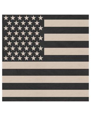 Šátek vlajka USA 55 x 55 cm...