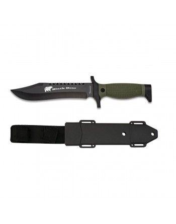 Nůž taktický BLACK BEAR s plastovým pouzdrem