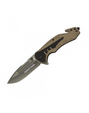 Nůž zavírací K25 18318 s hladkým ostřím DESERT
