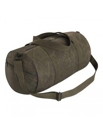 Taška WAXED DUFFLE BAG přes...