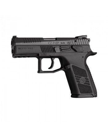Pistole CZ P-07, oba ovládací prvky
