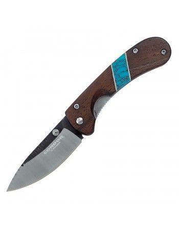 Nůž zavírací BLUE RIVER dřevěná rukojeť