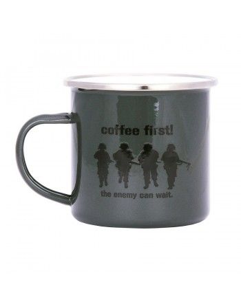 Hrnek COFFEE FIRST!...