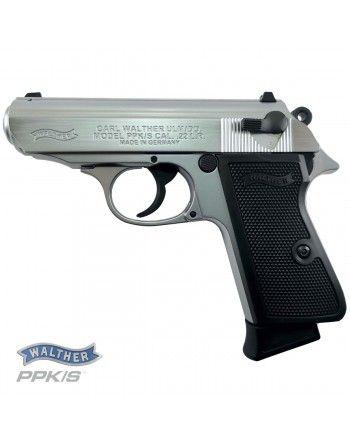 Pistole Walther PPK/S .22LR, nikl