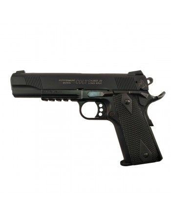 "Pistole Walther Colt 1911 Rail Gun 5"" .22LR"