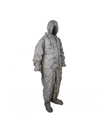 Oblek protichemický NVA ŠEDÝ