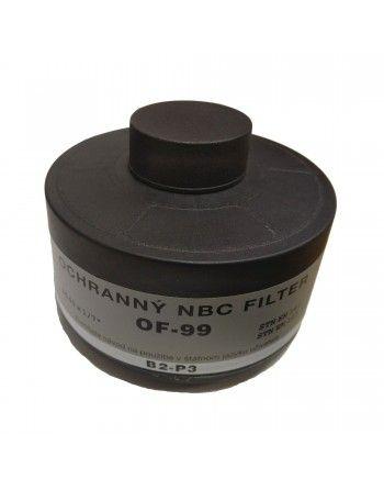 Filtr ochranný SK NBC OF-99 pro plynovou masku