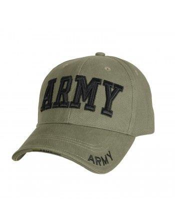Čepice DELUXE ARMY baseball...