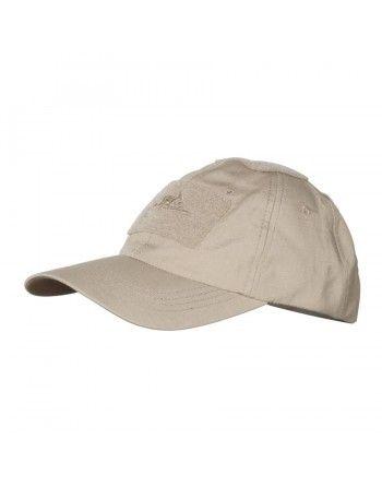 Čepice baseball suchý zip rip-stop KHAKI