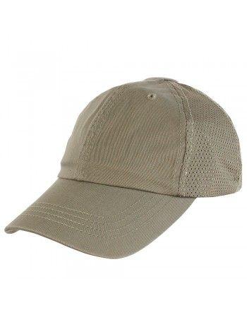 Čepice TEAM CAP MESH baseballová TAN