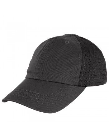 Čepice TEAM CAP MESH baseballová ČERNÁ