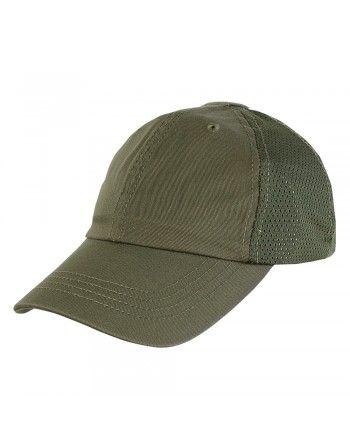 Čepice TEAM CAP MESH baseballová ZELENÁ