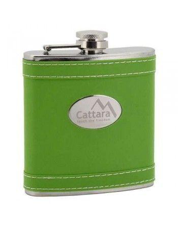 Lahev placatka zelená 175ml Cattara 13623