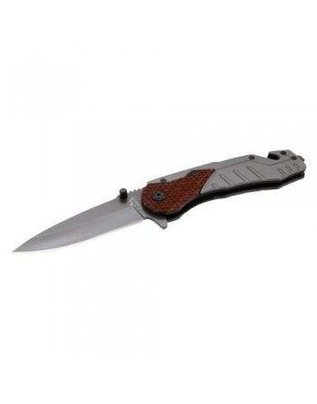 Nůž zavírací WOOD s pojistkou 21cm Cattara 13226