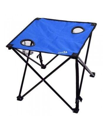 Stůl kempingový skládací LISBOA modrý Cattara 13482