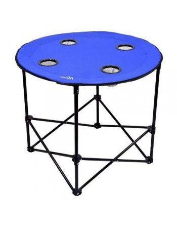 Stůl kempingový skládací SPLIT modrý Cattara 13484