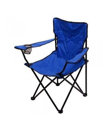 Židle kempingová skládací BARI modrá Cattara 13448