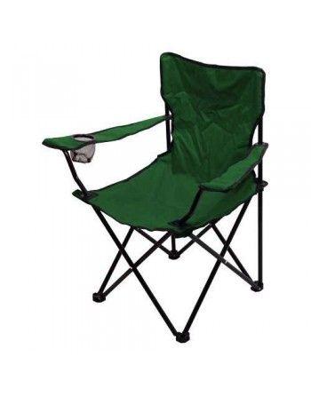 Židle kempingová skládací BARI zelená Cattara 13449