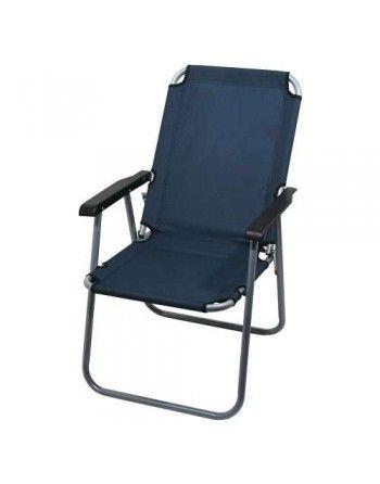 Židle kempingová skládací LYON tmavě modrá Cattara 13458