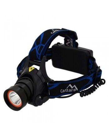 Čelovka LED 400lm (1x XM-L+15x SMD) Cattara 13124