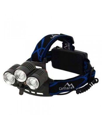 Čelovka LED 400lm (1x XM-L+2x XP-E) Cattara 13125