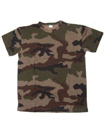Tričko orig. Francouzská armáda CAMO