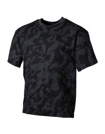 Tričko NIGHT CAMO