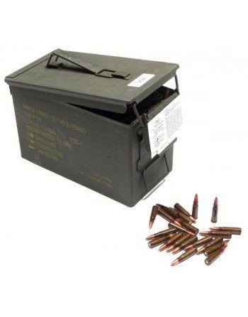 Náboje 7,62x39mm CIP střelivo 1000ks