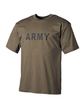 Tričko s potiskem ARMY