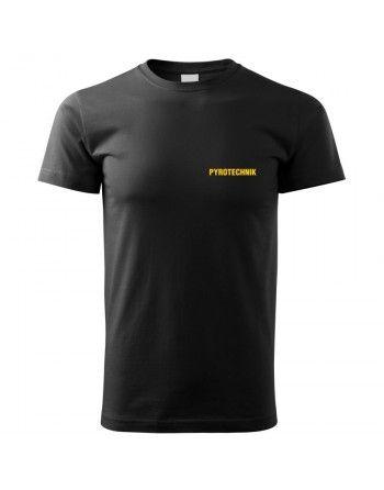 Tričko s potiskem PYROTECHNIK (samostatný nápis)