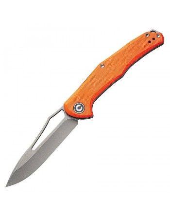 Nůž zavírací CIVIVI FRACTURE hladké ostří ORANŽOVÝ