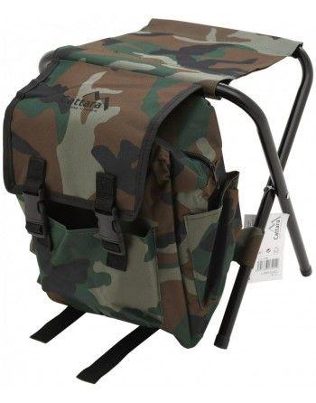 Židle skládací s batohem Cattara OLBIA ARMY